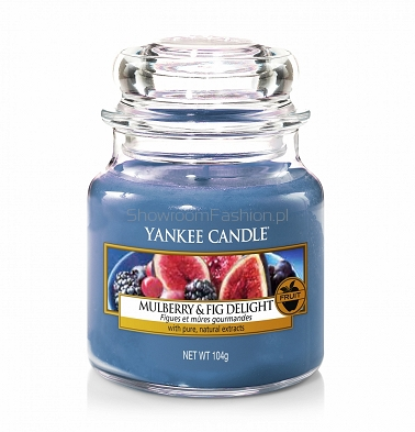 Mulberry & Fig Delight Yankee Candle - mała świeca