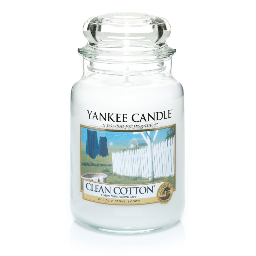 Clean Cotton Yankee Candle - duża świeca